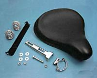 V-Twin Manufacturing Leather Solo Seat Kit