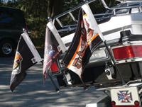 Rumbling Pride TCM Bracket Flag Mounting System