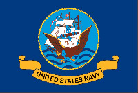 Rumbling Pride Navy 6″ x 9″ Flag