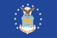 Rumbling Pride Air Force 6″ x 9″ Flag