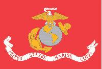 Rumbling Pride Marine 6″ x 9″ Flag