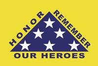 Rumbling Pride Honor - Remember 6″ x 9″ Flag