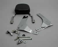 Jardine Short Backrest Kit with 6″ x 6″ Pad for Dyna