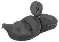 Mustang Super Touring One-Piece Studded Regal Seat with Driver Backrest