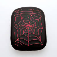 AC Precision Stick-On Passenger Seat with Spider Web Red Stitching