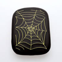 AC Precision Stick-On Passenger Seat with Spider Web Yellow Stitching