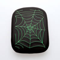 AC Precision Stick-On Passenger Seat with Spider Web Green Stitching