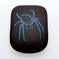 AC Precision Stick-On Passenger Seat Spider with Blue Stitching