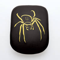 AC Precision Seats Stick-On Passenger Pad Spider with Yellow Stitching