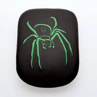 AC Precision Stick-On Passenger Seat Spider with Green Stitching