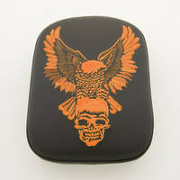 AC Precision Stick-On Passenger Seat Eagle with Orange Stitching