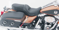 Mustang One-Piece Black Studded Sport Touring Seat