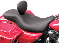 Mustang Wide Tripper Seat with Driver Backrest