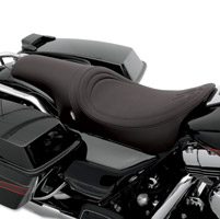 Drag Specialties Predator Custom Black Stitch Seat