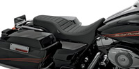 Drag Specialties Spoon-Style 2-Up Seat with Classic Stitching