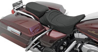 Drag Specialties Solo Narrow Passenger Seat with Mild Stitching