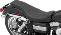 Drag Specialties Spoon-Style Flame Stitch Seat