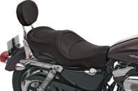 Drag Specialties Wide Low-Profile Mild Stitch Seat
