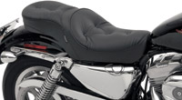 Drag Specialties Low Profile Touring Seat with Pillow with Memory Foam
