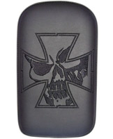 Phantom Pad Small Solid Embroidery Vinyl Iron Cross Skull Pad