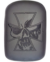 Phantom Pad Large Solid Embroidery Vinyl Iron Cross Skull Pad