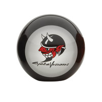 CycleVisions Devil Logo Topper