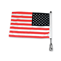 Pro Pad Tour Pack Solid Flag Mount with 6″ x 9″ American Flag