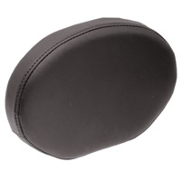 Drag Specialties Solar Reflective Leather Oval Sissy Bar Pad