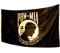 Parade Flag 3' x 5' POW-MIA Flag