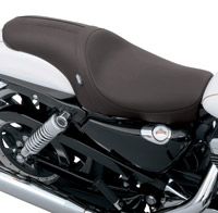 Drag Specialties Predator Smooth with Embossed Gator GT Stripe Seat