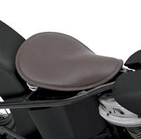 Drag Specialties Medium Brown Leather Seat Solo Seat
