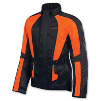 Olympia Moto Sports Unisex Horizon Neon Orange Rain Jacket