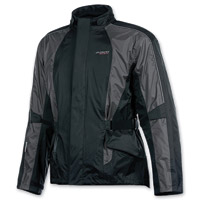 Olympia Moto Sports Unisex Horizon Pewter Rain Jacket