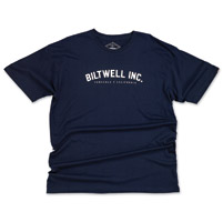 Biltwell Inc. Men's Basic Navy T-Shirt