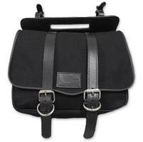 LaRosa Design Eliminator Black Canvas Swing Arm Bag