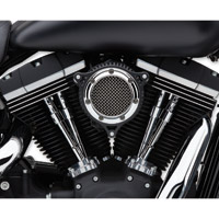 Cobra RPT Air Cleaner Kit Chrome/Black