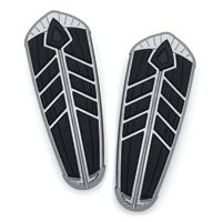 Kuryakyn Spear Chrome Floorboard Inserts