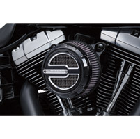 Crusher Black Maverick Air Cleaner Trim