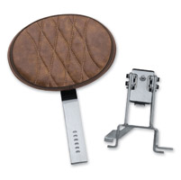 Kuryakyn Tan Plug-N-Go Driver Backrest