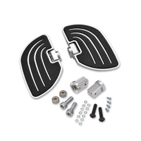 Show Chrome Accessories Beachcomber Passenger Floorboards for 6MM Mounts