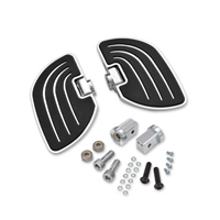 Show Chrome Accessories Beachcomber Passenger Floorboards for 8MM Mounts