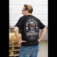 Chapter 13 Men's Old & Cranky Psycho Black T-Shirt
