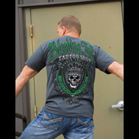 Chapter 13 Men's Bleeding Ink II Charcoal T-Shirt