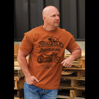Chapter 13 Men's Black Hills Invasion Texas Orange T-Shirt