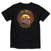 Biltwell Inc. Men's Get Lost Black T-Shirt