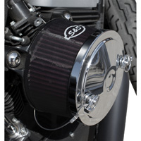 S&S Cycle Stealth Air Cleaner 1″ Taller Pre Filter