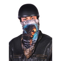 Hogshoppe Shadow of Death Fleece Lined Face Mask