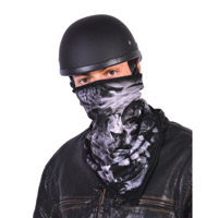 Hogshoppe Mist Skull Fleece Lined Face Mask