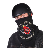 Hogshoppe Evil Wicked Fleece Lined Face Mask
