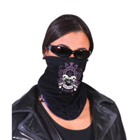 Hogshoppe Rebel Heart Fleece Lined Face Mask